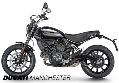 Ducati Scrambler 62 in Shining Black