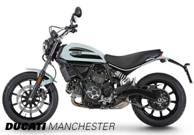 Ducati Scrambler 62 in Ocean Grey